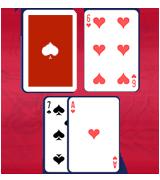 수학적으로 가장 좋은 기회는 딜러의 업 카드가 10이면 서렌더 하거나 16에서 스텐드 하는 것입니다